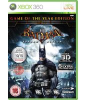Batman Arkham Asylum - Game of the Year [русская документация] (Xbox 360)